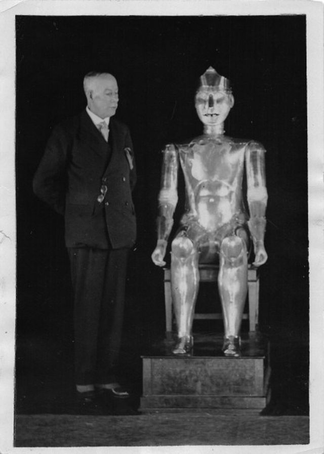 Robert Robot, Created By William Richards