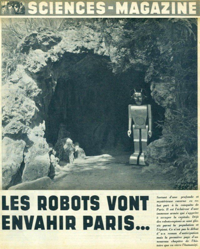ob 3b66be semrobot01 x640 1947   Anatole the Robot (nee Marsulus and Gustave)   M. Koralek / Jean Dussailly (French)