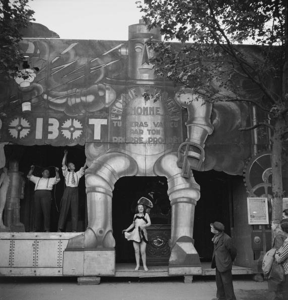 Fun fair. France, about 1935.
