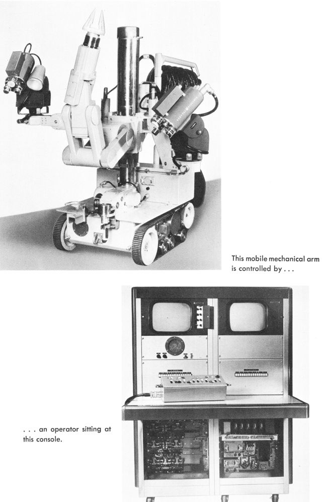 PaR mobile robot 0007 x640 1966   Herman Mobile Remote Manipulator   PaR Systems (American)