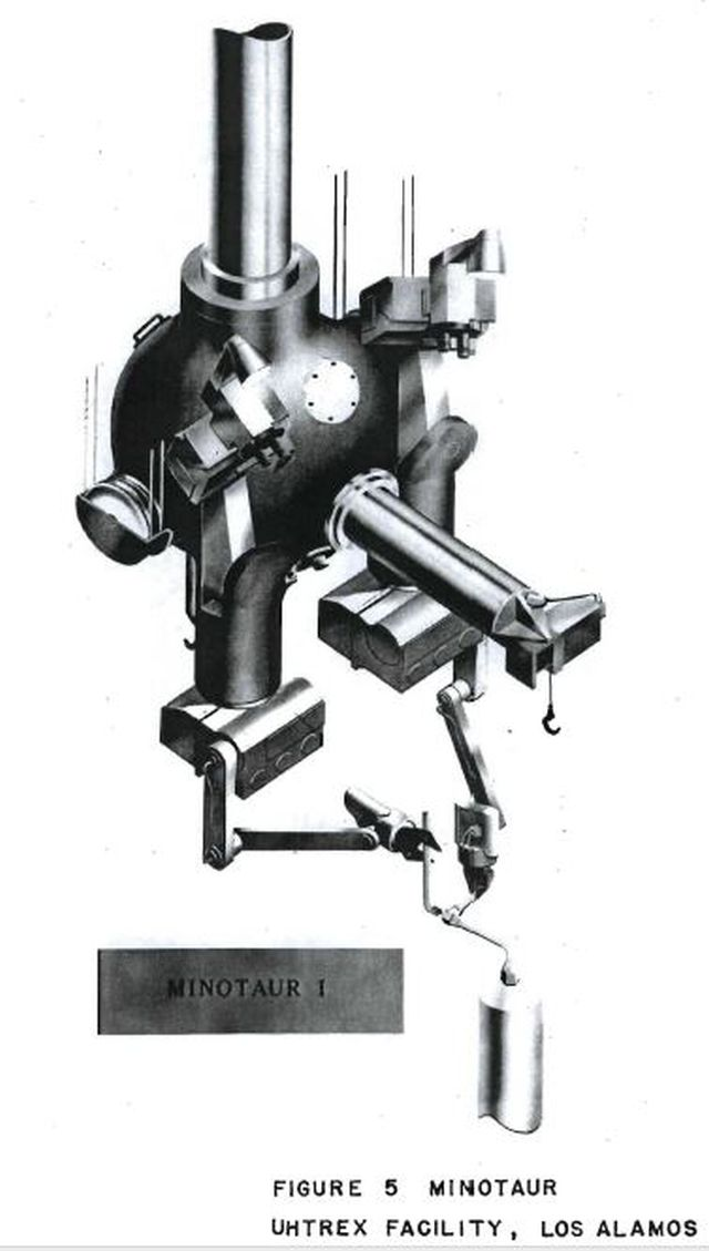 minotaur 1 illustration x640 1960   Minotaur Remote Manipulator   General Mills (American)