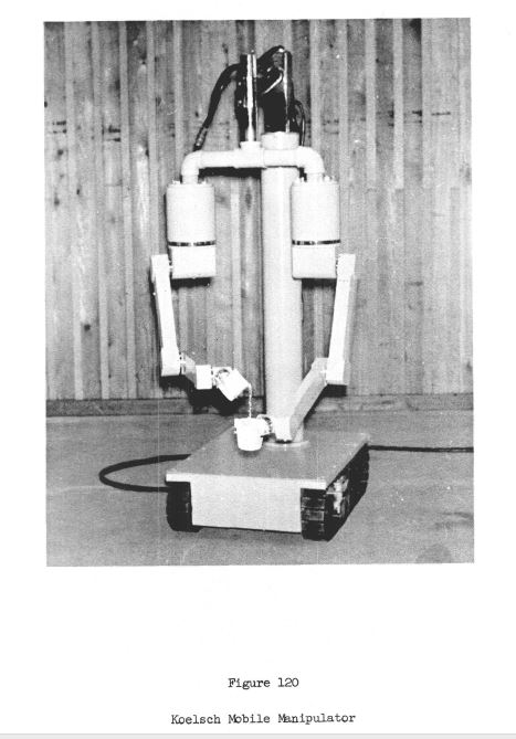 Koelsch mobile manipulator 1960   KOELSCH Mobile Manipulator   William A. Koelsch Jr. (American)