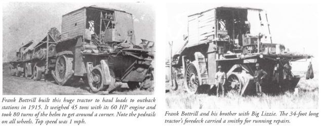 bottril lizzie 3 x640 1912   Dreadnought Wheel and Big Lizzie   Frank Bottrill (Australian)