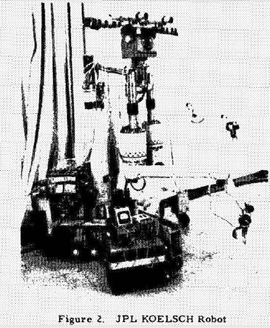 jpl KOELSCH mob platform 1960   KOELSCH Mobile Manipulator   William A. Koelsch Jr. (American)