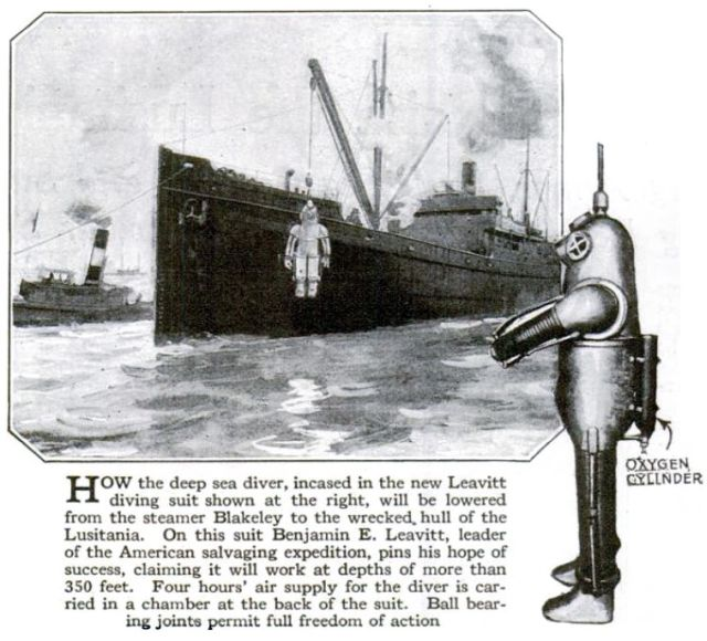 leavitt psaug22 x640 1917   Diving Armor Suit   Benjamin Franklin Leavitt (American)