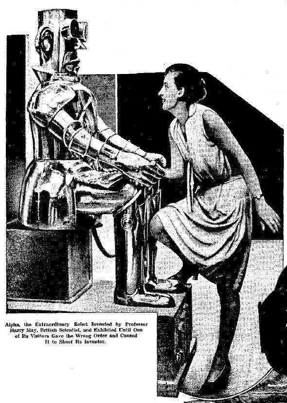 1932   Alpha the Robot   Harry May (English)