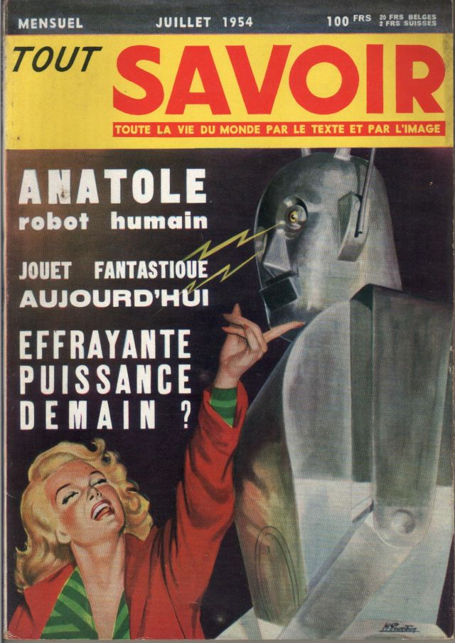 Anatole3 x640 1948   Anatole the Robot (nee Marsulus and Gustave)   M. Koralek / Jean Dusailly (French)
