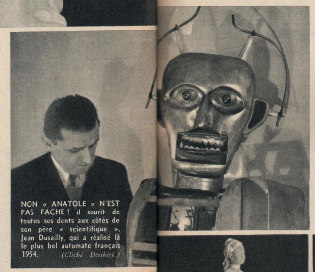 AnatoleP4 x640 1947   Anatole the Robot (nee Marsulus and Gustave)   M. Koralek / Jean Dussailly (French)