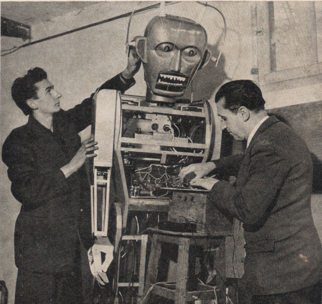 Anatole 15June1954p2 x640 1947   Anatole the Robot (nee Marsulus and Gustave)   M. Koralek / Jean Dussailly (French)