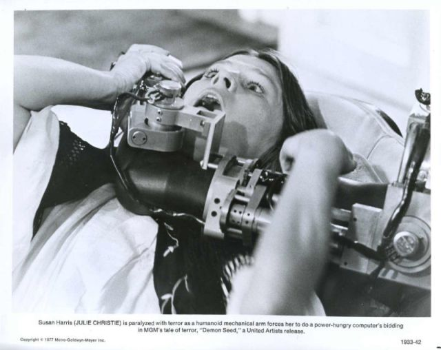 Demon seed joshua 1 x640 1977   Joshua the wheelchair Robot from Demon Seed   (American)