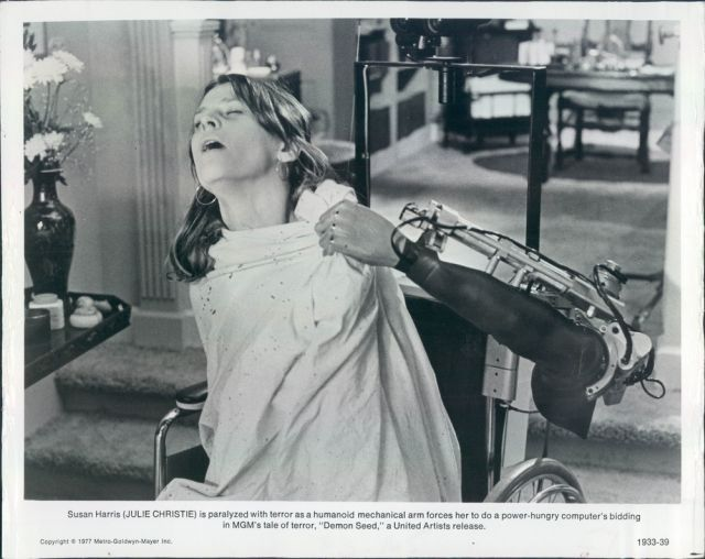 Demon seed joshua 2 x640 1977   Joshua the wheelchair Robot from Demon Seed   (American)