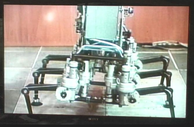 Efimov 6 Legged Walker P3 x640 1979   6 legged Walking Machine   Efimov et al (Soviet)