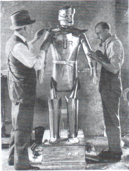 Eric wp1 1928   Eric Robot   Capt. Richards & A.H. Reffell (English)