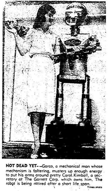 Garco retirement LATimes 31July1961 1953   GARCO   Harvey G. Chapman Jr. (American)