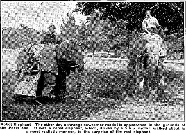 Mechanical Elephant Paris 1932 x640 1932   Mechanical El the Mechanical Elephant   M. Marcel Survivet (French)