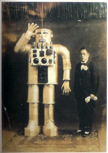 Mitsui2 Early Humanoid Robots