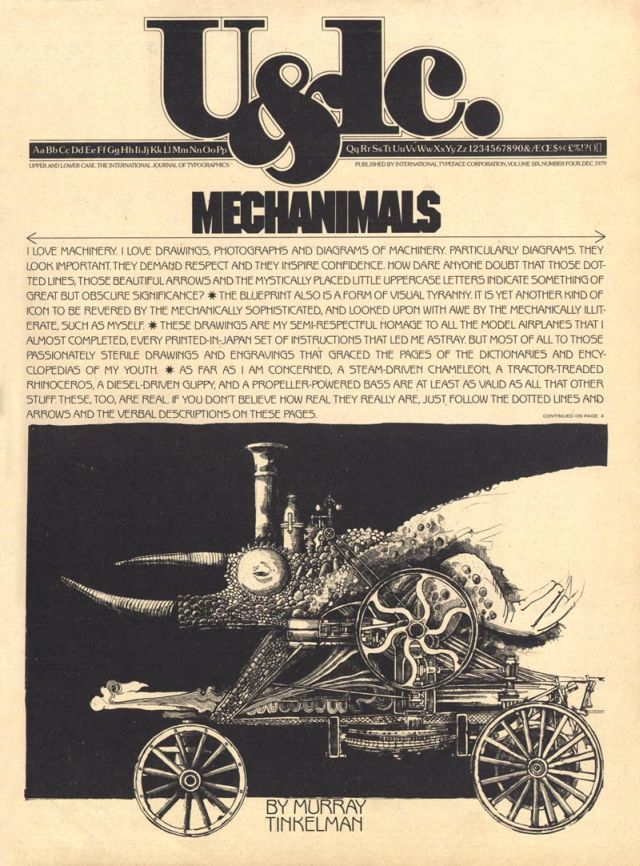Murray Tinkelman mechanimals ulc x640 1978   Mechanimals Illustrations   Murray Tinkelmann (American)