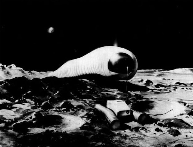 1966   Lunar Worm (Concept)   Dobson & Fulton of Philco (American)