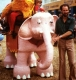 PoCo Mechanical elephant 1980c x80 Mechanical Elephants, Horses, and other Walking Animals