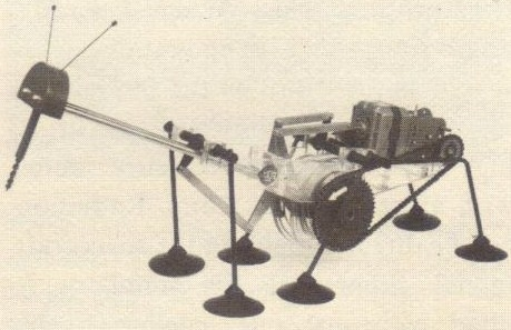 RCA Lunar Rovers Praying Mantis model x640 1961   RCA Praying Mantis Moon Walker   (American)