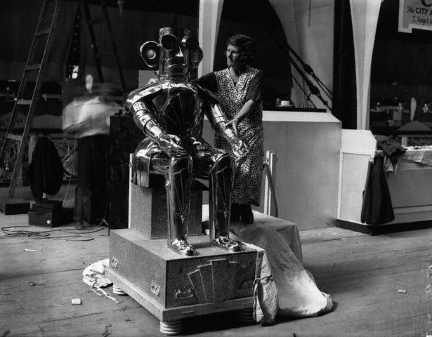 RobotAlpha18081932 1932   Alpha the Robot   Harry May (English)