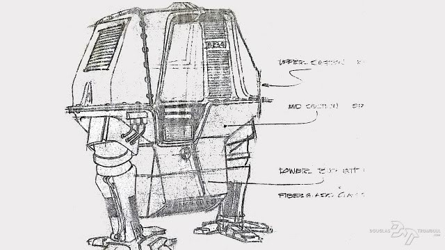 Silent Running concept 1 x640 1971   Silent Running Drones   Doug Trumbull, Don Trumbull, Paul Kraus & James Dow (American)