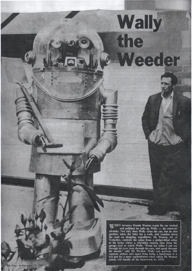 TinkerWally67 x640 1966   Tinker the Robot   Dennis Weston (British)