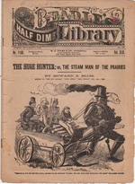 beadle steam man No1156VolXLIX 1868 1904   Fictional Steam Man, Steam Horse, Electric Man & Electric Horse (American)