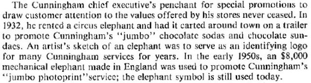 cunningham jewish news elephant jumbo x640 1951   Mechanical Elephants by Frank Stuart in America