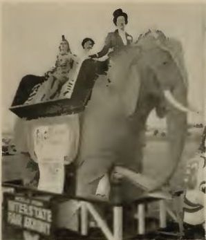 1954   Robo the Mechanical Elephant owned by C.C. Ezell (American)