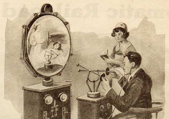 1925 Feb science and invention doctor future sm 1925   Teledactyl Remote Manipulator   Hugo Gernsback (German/American)