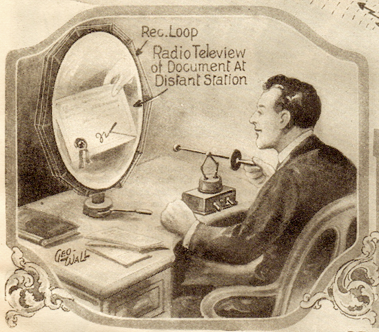 1925 Feb science and invention radio teleview sm1 1925   Teledactyl Remote Manipulator   Hugo Gernsback (German/American)