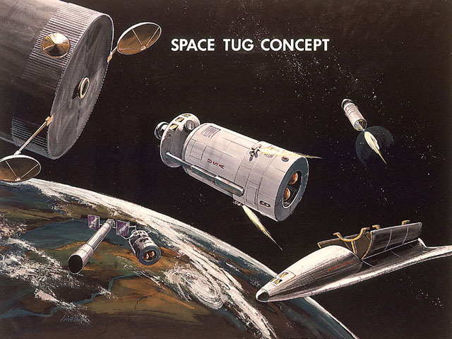 9902041 x640 1971   Space Tug (Concept)   MSFC/Boeing (American)