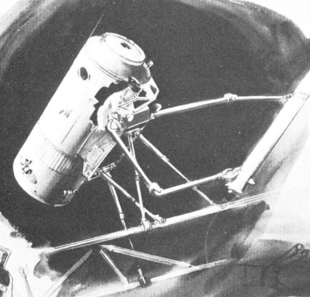 Boeing manipulator 2 x640 1965   Manned Space Pod with Manipulators (Concept)   Boeing (American)