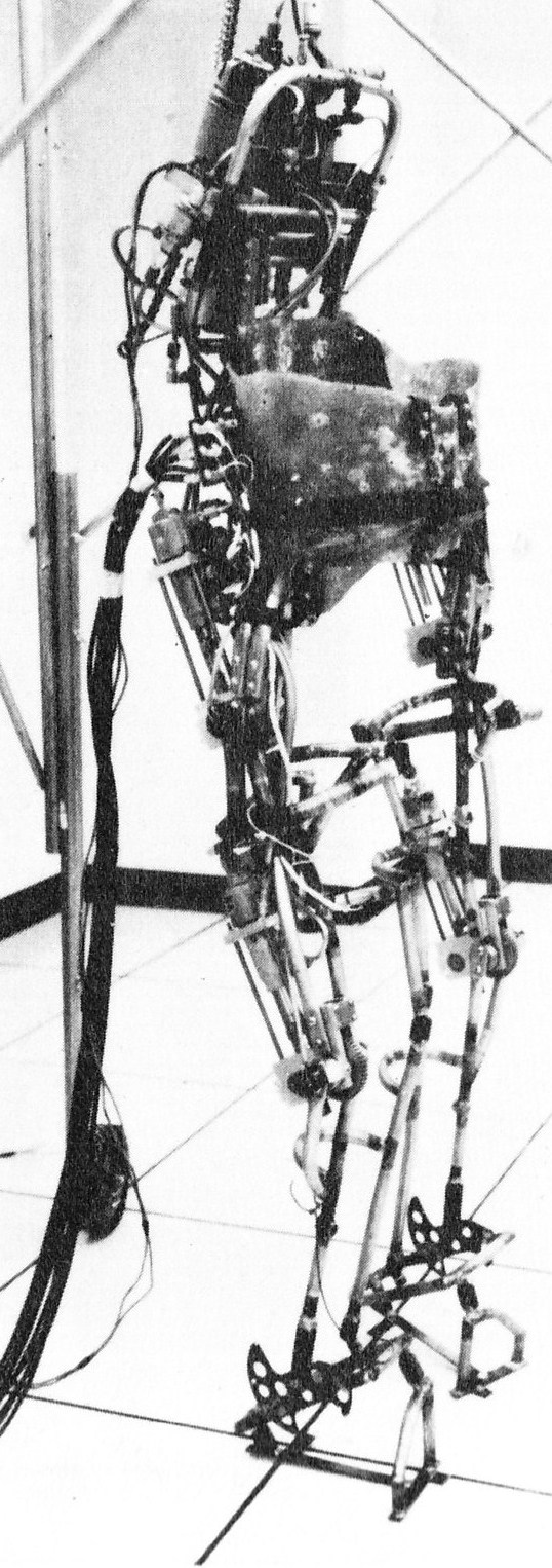 Grundmann exoskeleton mkIII 3 1971   A computer controlled multi task powered exoskeleton for paraplegic patients   Jack George Grundmann / Ali Seireg (American)