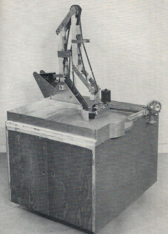 Thring TableClearing robot 1967 x640 1962   Table Clearing Robot   Meredith Thring (Australian/British)