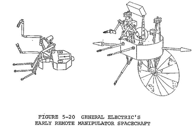 ge remote manip space p156a x640 1968   Android Space Manipulator (Concept)   General Electric (American)