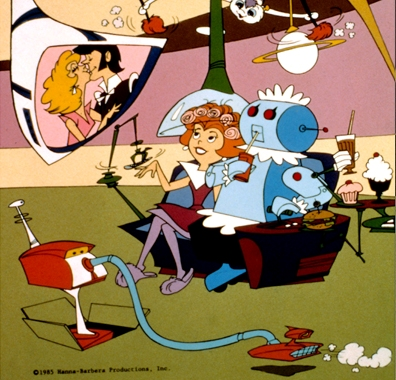 jetsons vacuum cartoon everett 1985 1962 3   The Jetsons Automatic Vacuum Cleaner   Hanna Barbera (American)