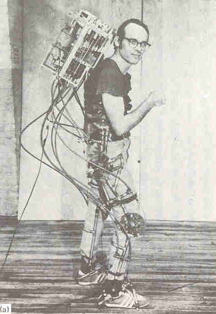 seireg1 1971   A computer controlled multi task powered exoskeleton for paraplegic patients   Jack George Grundmann / Ali Seireg (American)