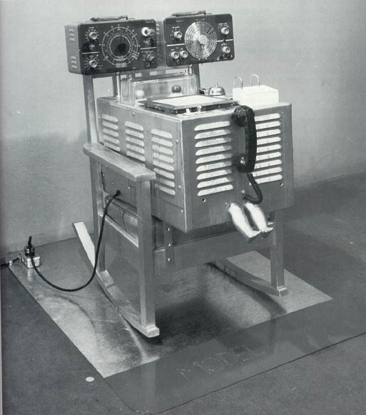 1965 The Friendly Grey Computer Star Gauge Model 54 Edward Kienholz American