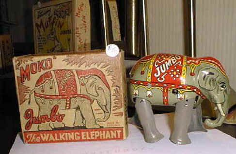 jumbo toy elephant x640 Mechanical Elephants   Toys and Automata