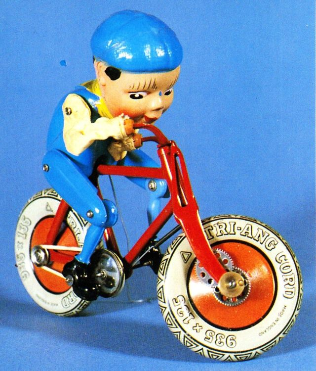 mech toys gyrocycle x640 1936   The Gyro Cycle   Hubert Charles Henry Townend (British)