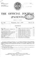patent journal 1949 x200 1949 50   Mechanical Elephant   Frank Stuart (British)