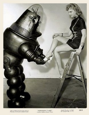 robby+robot francis x640 Robots and Pretty Girls (Part 3   Movies)