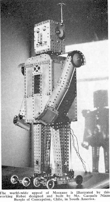 Early Meccano Robot Models   Frank Hornby et al (British)