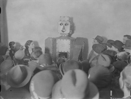 robotselfridge 1934   Fortune Teller   (British)
