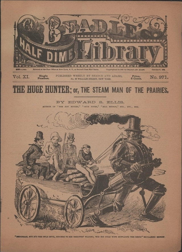 steammanreadep4 x640 1868 1904   Fictional Steam Man, Steam Horse, Electric Man & Electric Horse (American)