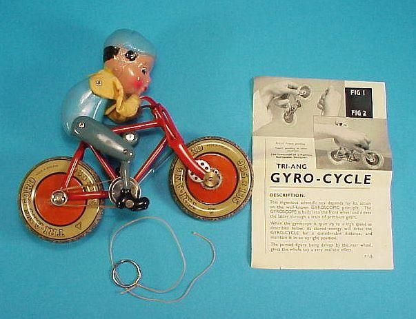 tri ang box gyro cycle ins x640 1936   The Gyro Cycle   Hubert Charles Henry Townend (British)