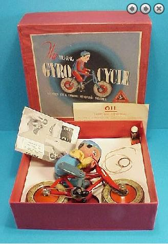 tri ang complete gyro cycle x640 1936   The Gyro Cycle   Hubert Charles Henry Townend (British)