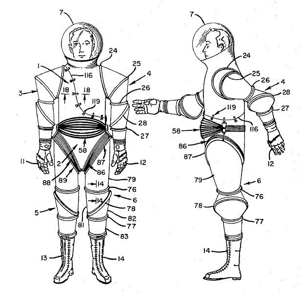 space suit drawing - photo #14